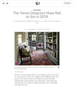 Designer Trends from AD Online featuring Jean Liu