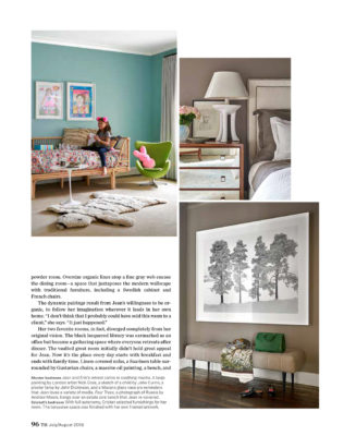 Traditional Home - Jean Liu Art & Soul Article Pg 4