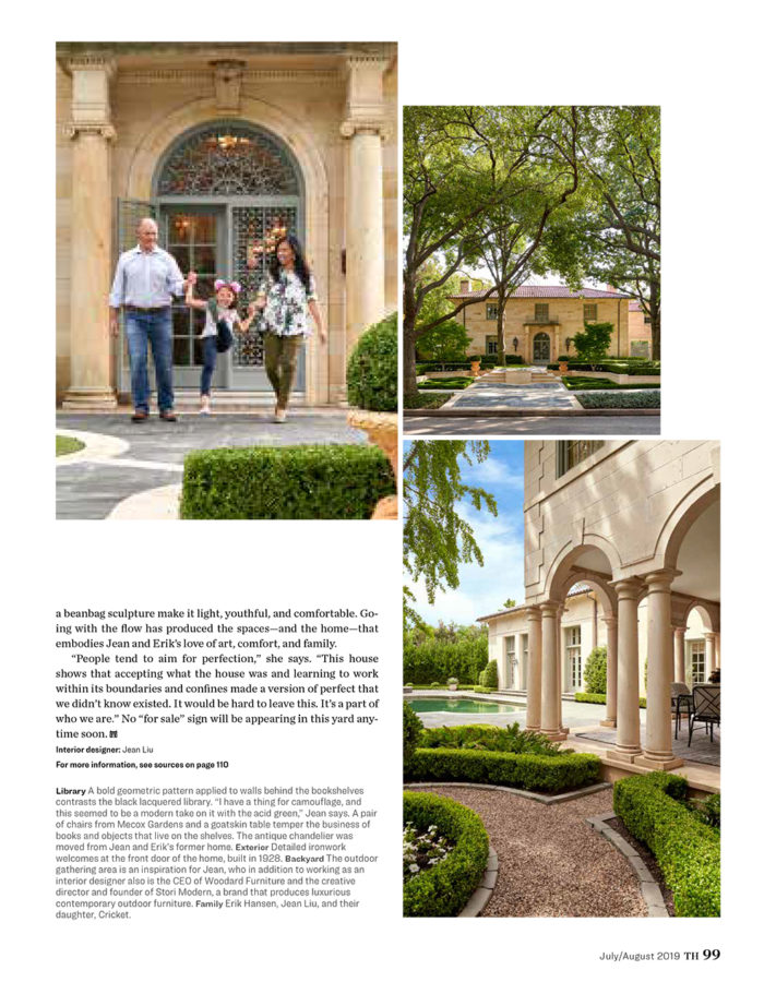 Traditional Home - Jean Liu Art & Soul Article Pg 9